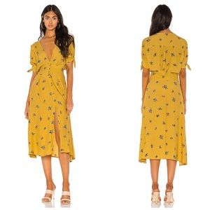Faithful the Brand Billie Floral Midi Dress Sz 10